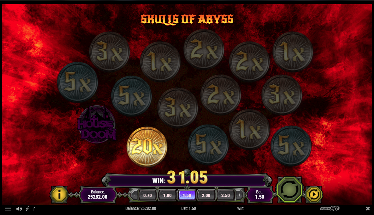 Skulls of Abyss bonus feature
