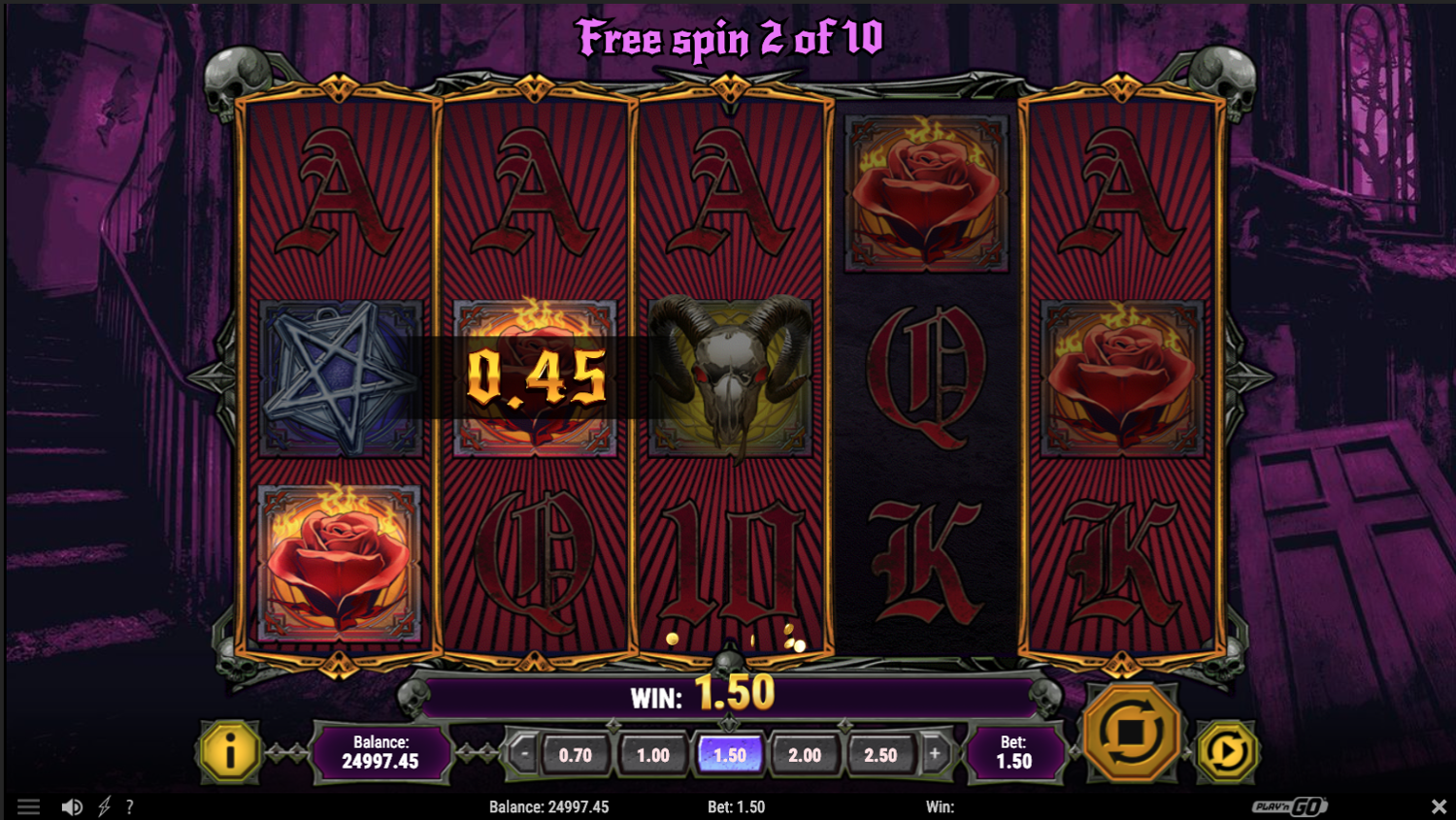 House of Doom free spins