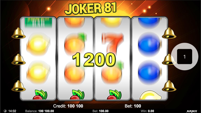 Joker 81 big win