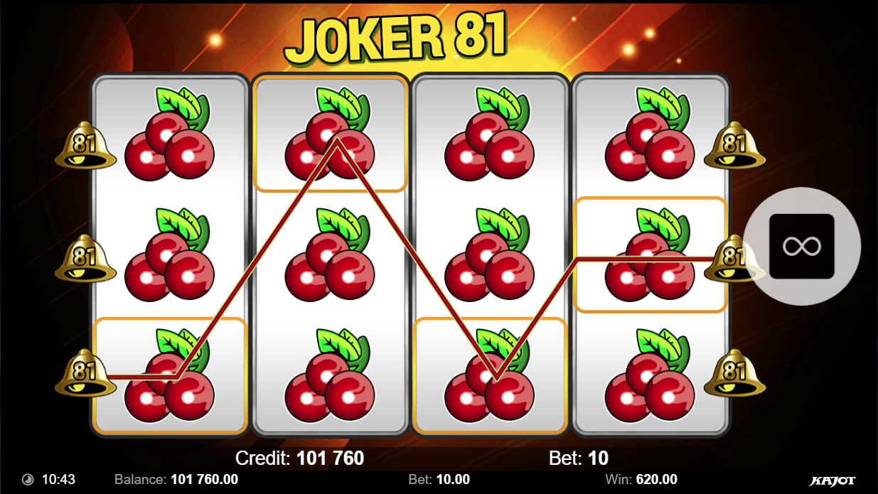 Joker 81 stacked symbols