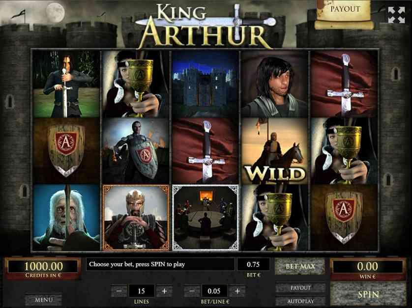 Spielen Sie King Arthur kostenlos im Demo Mode von Tom Horn