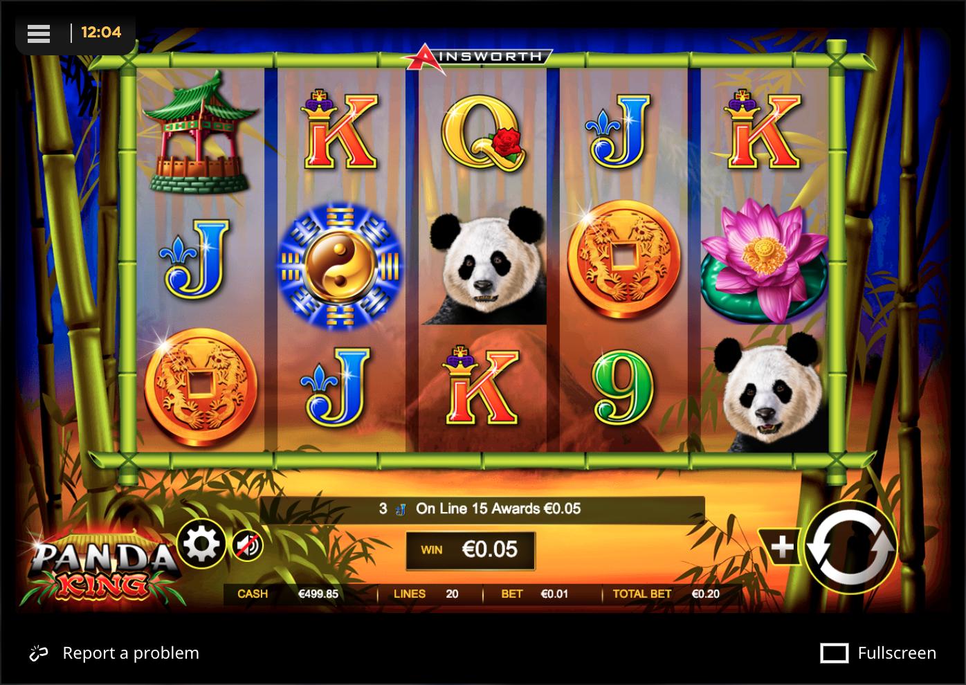 Panda King clear visuals