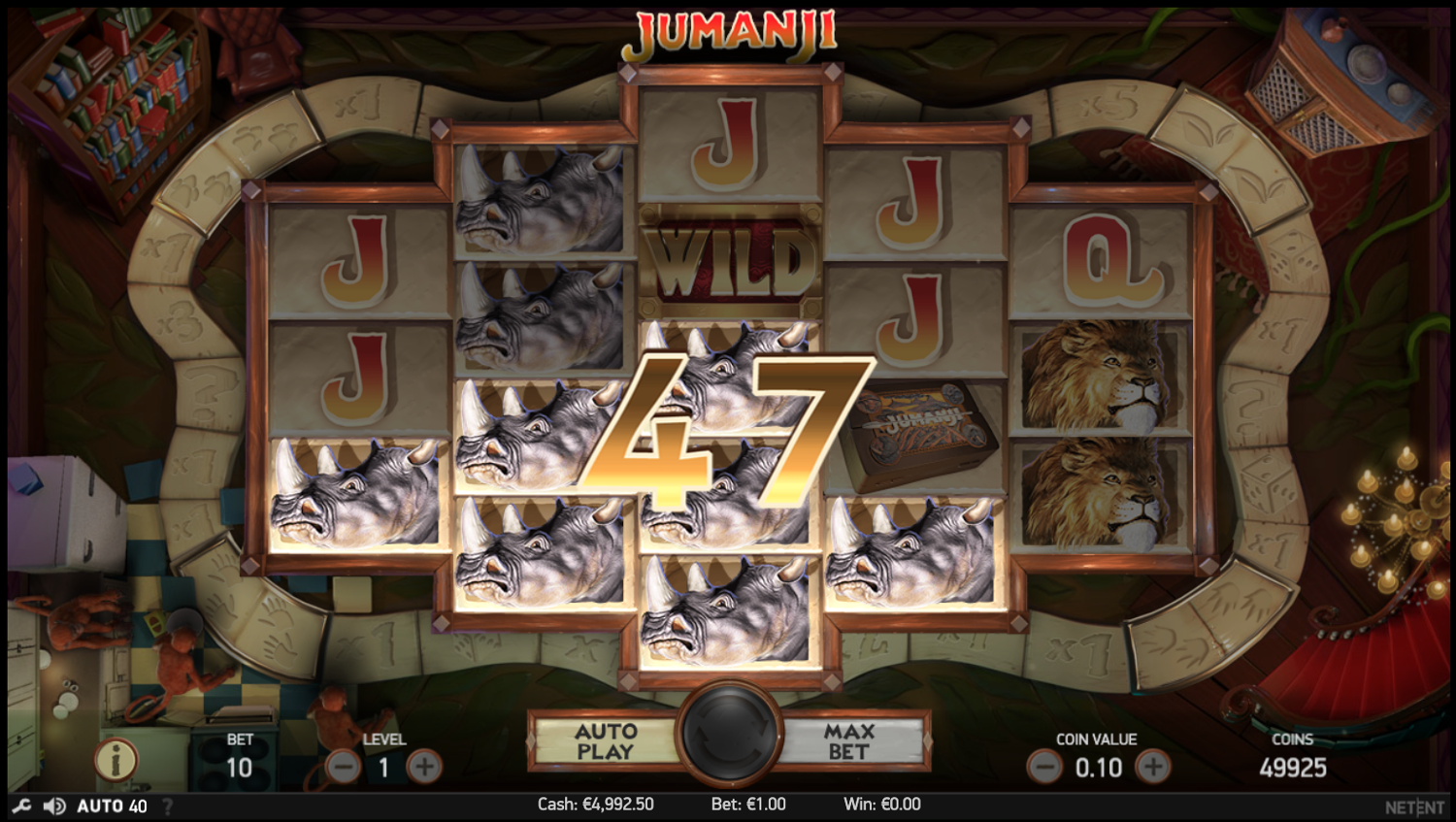 Jumanji simple win