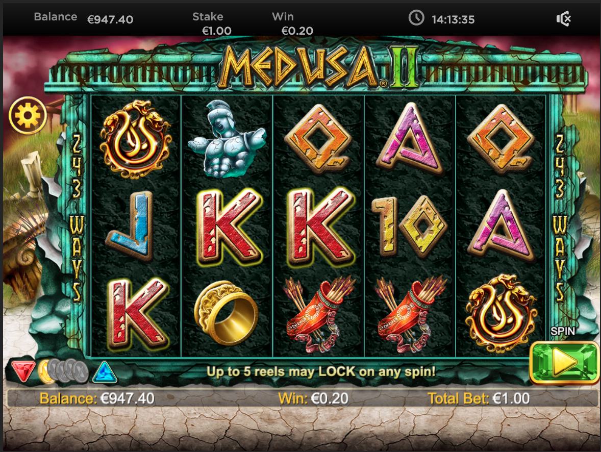Medusa 2 HQ slot machine