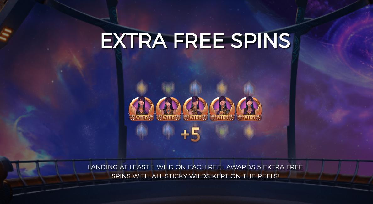 Cazino Cosmos extra free spins