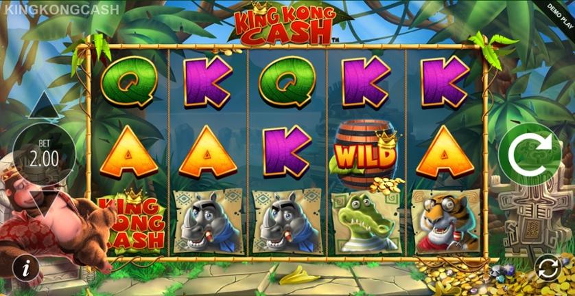 Juega Gratis A La Tragamonedas King Kong Cash