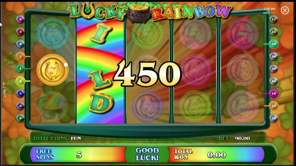 Vitória no Lucky 7