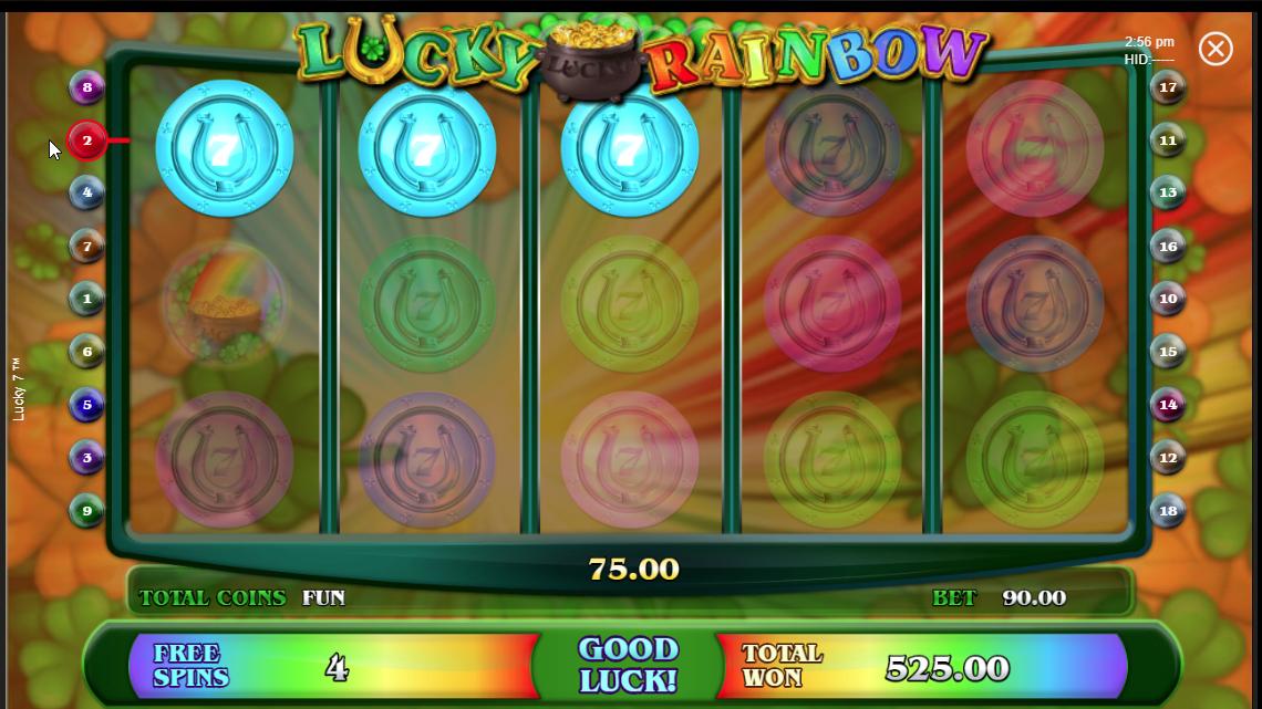 Vitória no Lucky 7 com os 7's