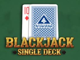 Single Deck Blackjack (Arrows Edge)