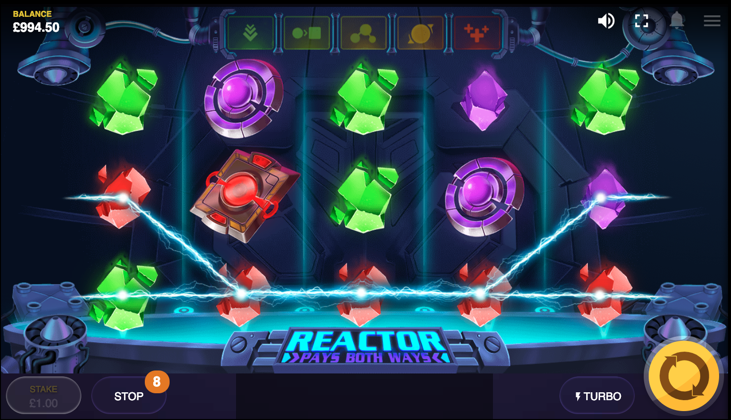 Reactor active winlines visibility