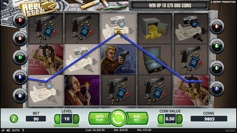 Reel Steal slot win