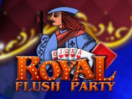 Royal Flush Party Video Poker