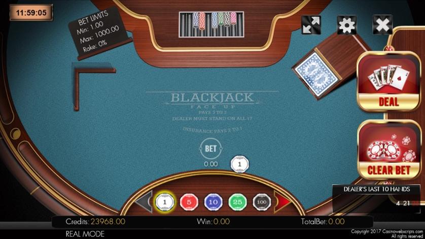 BlackJack 21 FaceUp.jpg