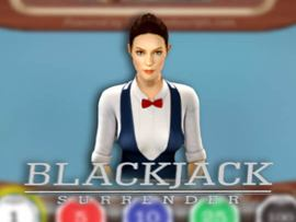 Blackjack 21 Surrender 3D Dealer