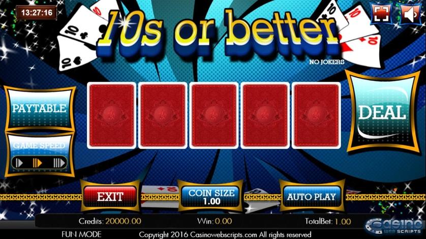 10s or better Video Poker.jpg
