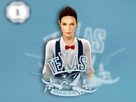 Texas Holdem Heads-Up 3D Dealer