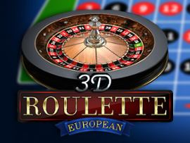 European Roulette 3D Advanced