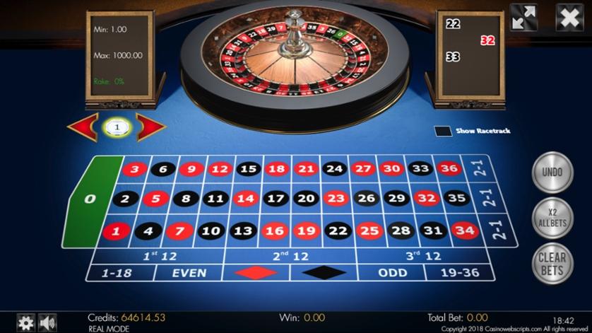 Spiele American Roulette 3D Advanced - Video Slots Online