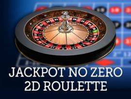 Jackpot Roulette No-Zero 2D Advanced