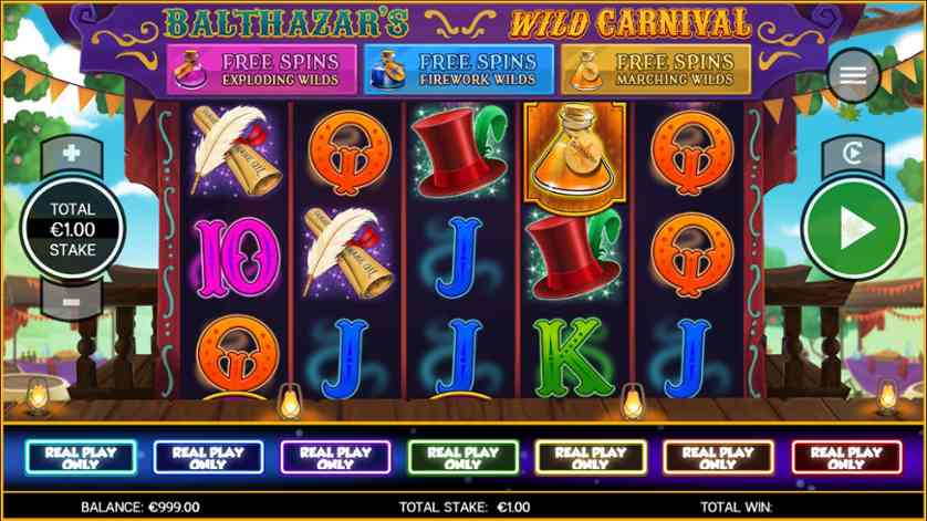 Play Wild Carnival Slot Machine Free with No Download