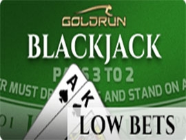 Blackjack Low Bets