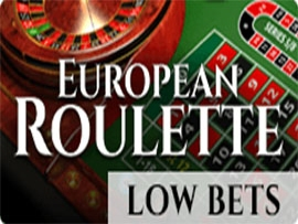 European Roulette Low Bets