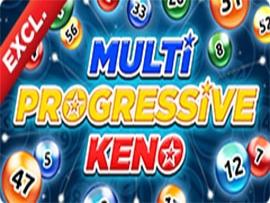 Multi Progressive Keno