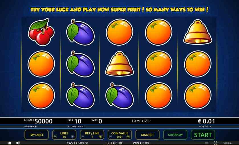 Spielen Sie Hyper Fruit Kostenlos Im Demo Mode Von Holland Power Gaming