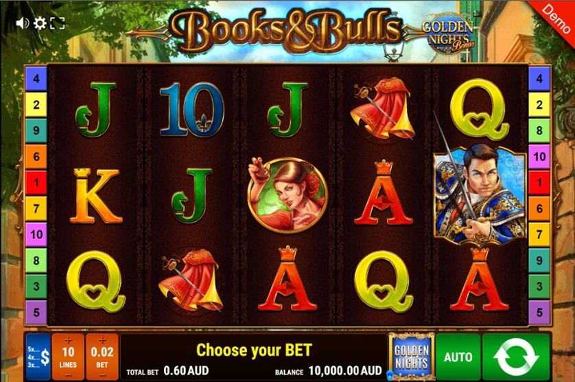Book & Bulls - Golden Nights Bonus.jpg
