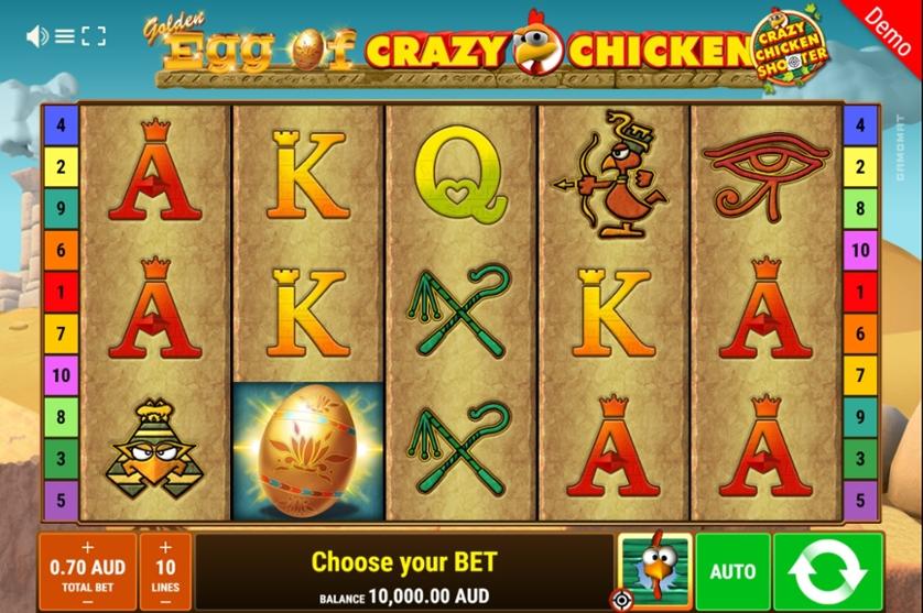 Spiele Golden Egg Of Crazy Chicken - Crazy Chicken Shooter - Video Slots Online
