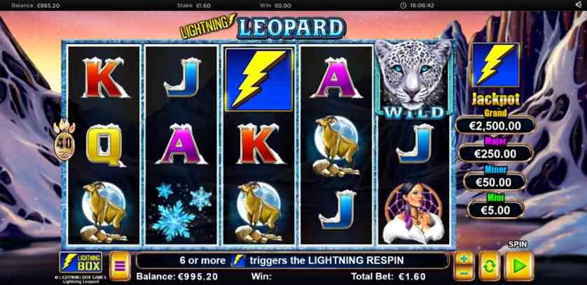 Spielen Sie Lightning Leopard Kostenlos Im Demo Mode Von Lightning Box