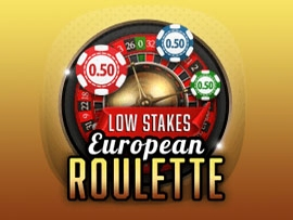 European Roulette Low Stakes