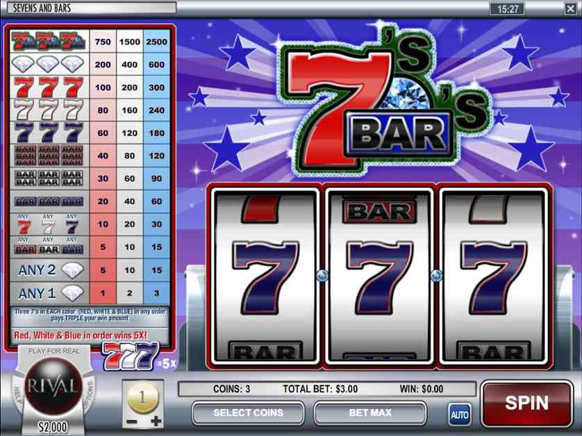 Spielen Sie Bars and Sevens kostenlos im Demo Mode von Novomatic