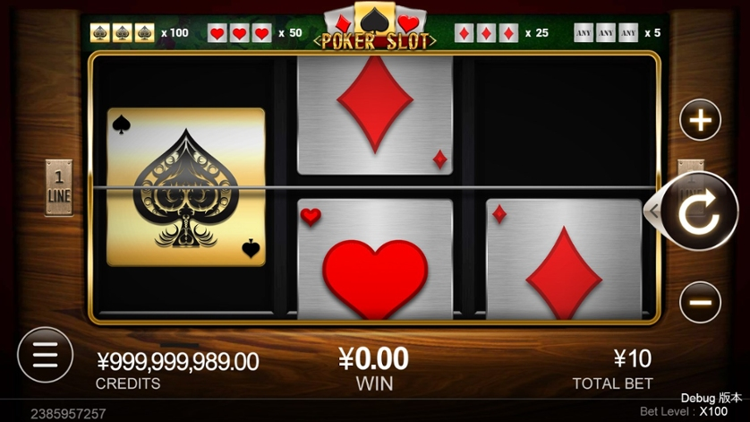 Poker Slot Free Play in Demo Mode and Game Review
