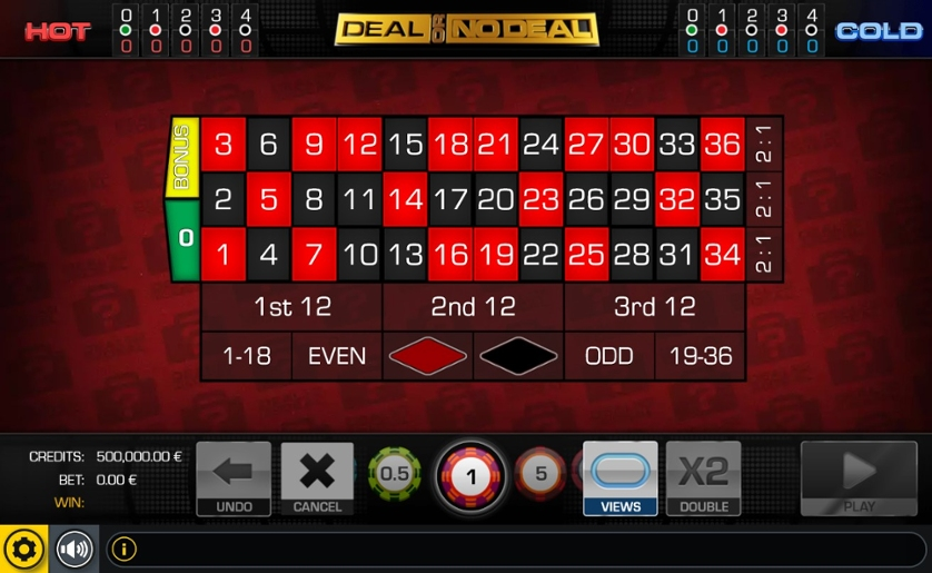 Play Free Roulette Deal Or No Deal Game