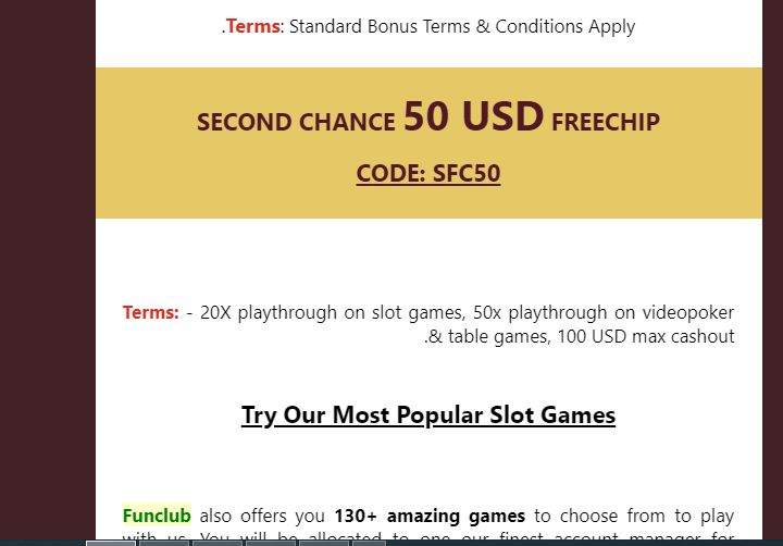 Funclub Casino Player S Winnings Were Confiscated Because Of