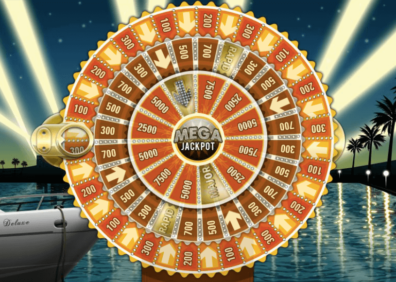 Mega Fortune Bonus Wheel