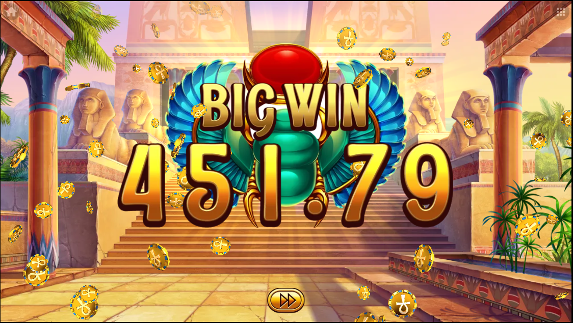Egyptian Dreams Deluxe big win