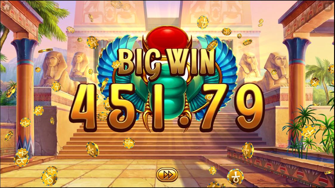 Egyptian Dreams Deluxe big win