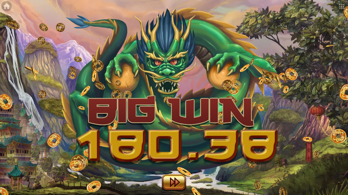 Ways of Fortune big win animation