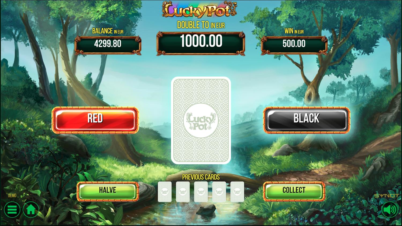 Lucky Pot gamble function