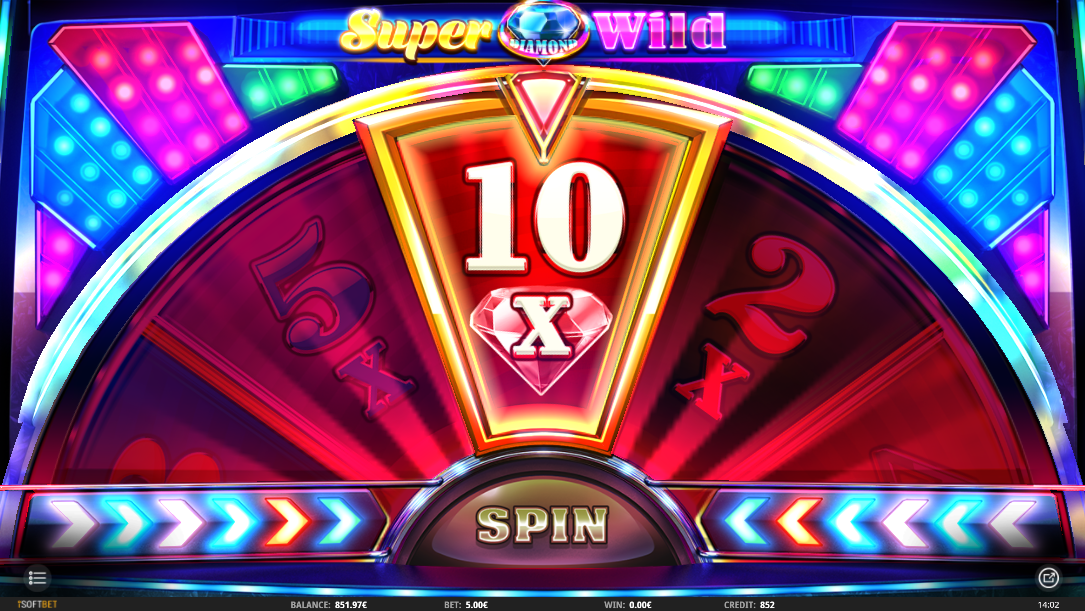 Super Diamond Wild highest multiplier