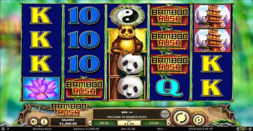 Spielen Sie Bamboo Rush kostenlos im Demo Mode von Betsoft Gaming