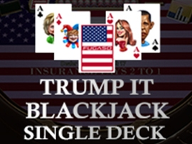Trump It Blackjack Single Deck