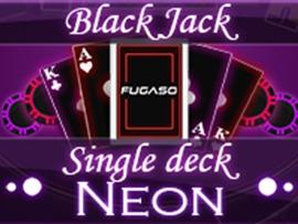 Neon Blackjack Single Deck
