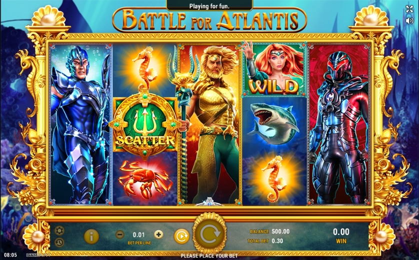 Spiele MiГџion Atlantis - Video Slots Online