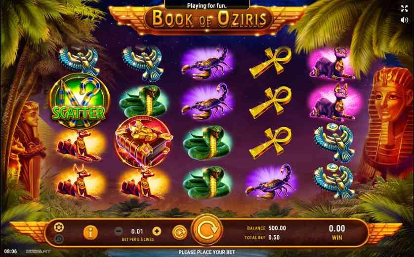 Spielen Sie Book Of Oziris Kostenlos Im Demo Mode Von GameArt