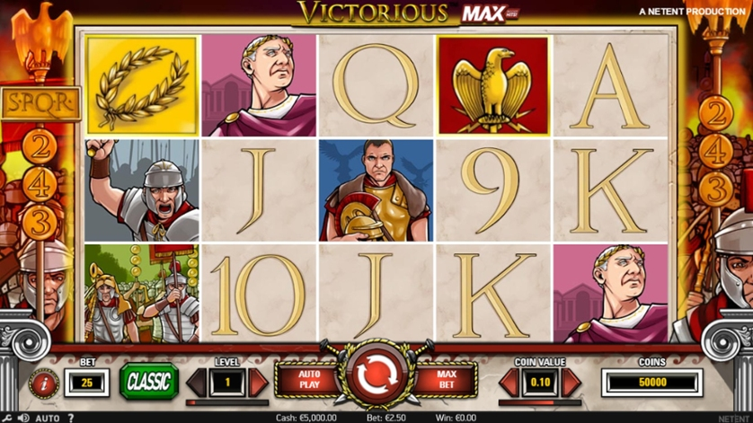 Spiele Victorious MAX - Video Slots Online