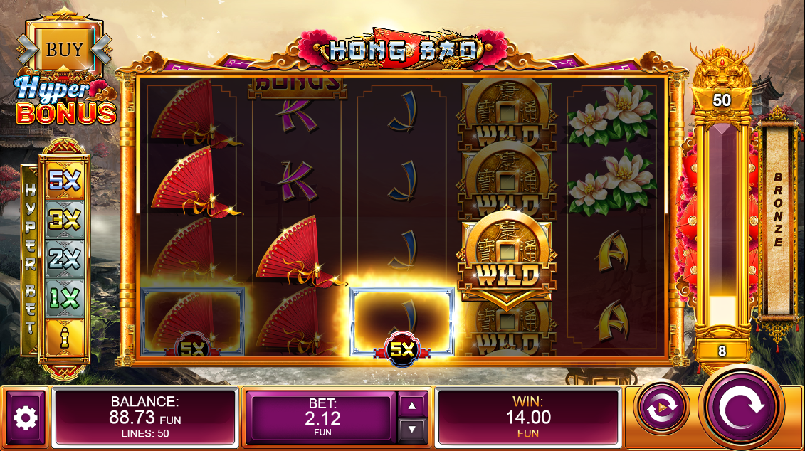 Hong Bao top multiplier win