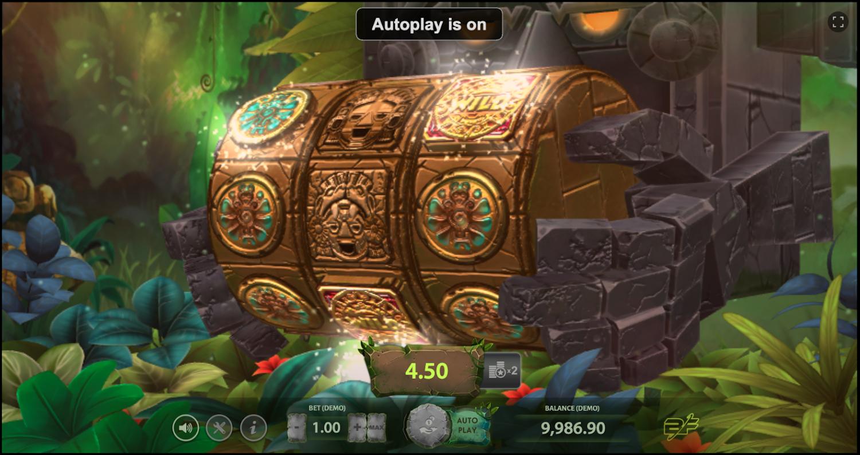 Aztec Adventure base game win